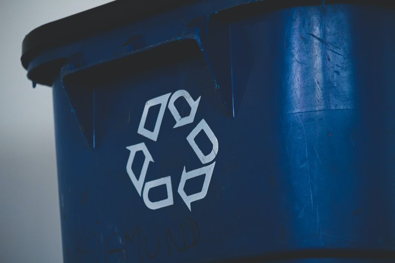 Recycling bin. Photo by Sigmund on Unsplash